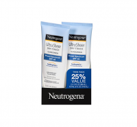 Neutrogena Ultra Sheer Dry-Touch Sunscreen, SPF 45, 3 oz ea, Value Pack [086800287926]