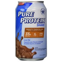 Pure Protein Shake, Frosty Chocolate 11 oz [749826126272]