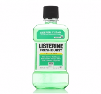 Listerine Antiseptic Mouthwash, Fresh Burst 250 mL [312547428200]