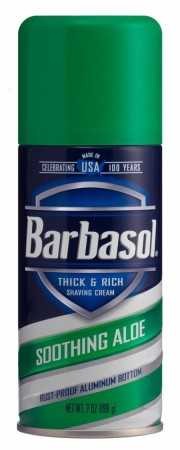 Barbasol Thick & Rich Shaving Cream, Soothing Aloe 7 oz [051009007743]