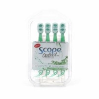Scope Outlast Mini Brushes 4 ct [728947000111]