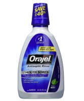 Orajel Antiseptic Mouth Sore Rinse 16 oz [310310324995]