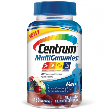 Centrum MultiGummies for Men Multivitamin/Multimineral Supplement 150 ea [300054862907]