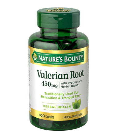 Nature's Bounty Valerian Root 450 mg 100 ea [074312333903]
