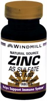 Windmill Zinc 50 mg Tablets Natural Source 90 Tablets [035046004194]