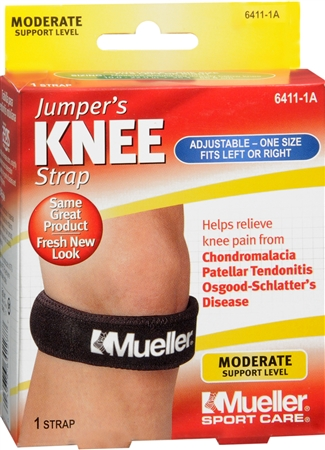 Mueller Sport Care Jumper's Knee Strap One Size 6411 1 Each [074676641119]