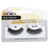 Andrea Strip Lashes, Black [33] 1 ea [078462233106]