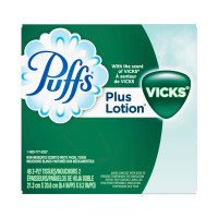 Puffs Plus Lotion Vicks Scented Facial Tissue, 48 ea [037000344315]