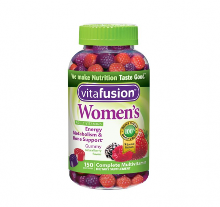 Vitafusion Women's Daily Multivitamin Gummy 150 ea [027917022710]
