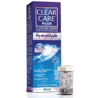 Clear Care Plus HydraGlyde Cleaning and Disinfecting Solution 12 oz [300650363396]