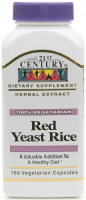 21st Century Red Yeast Rice Vegetarian Capsules 150 ea [740985229088]