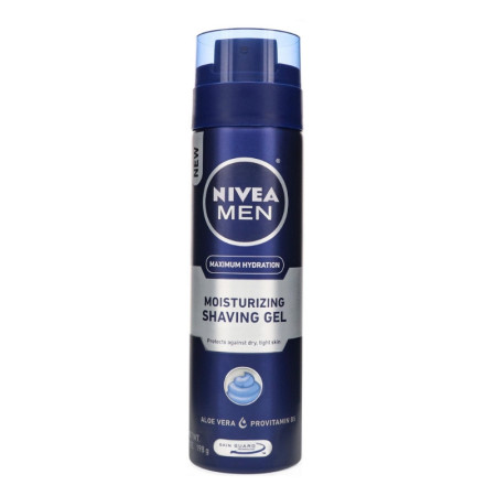 NIVEA Moisturizing Shaving Gel For Women 7 oz [072140817602]