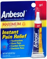 Anbesol Gel Maximum Strength 0.33 oz [305730225670]