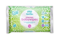 Mum & You Compostable Baby Wet Wipes-56 Count ea. 98% Water, 0% Plastic, Hypoallergenic & Dermatologically Tested