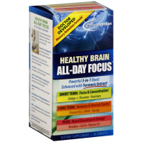 Applied Nutrition Healthy Brain All-Day Focus Tablets 50 ea [710363575946]