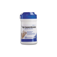 Sani-Hands ALC Instant Hand Sanitizing Wipes, 135 ea [310819000710]