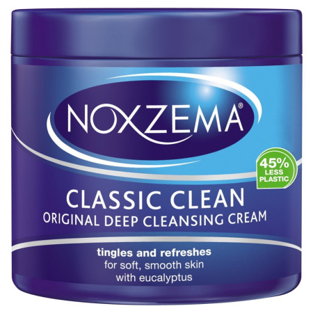 Noxzema Classic Clean, Moisturizing Cleansing Cream 12 oz [087300560113]