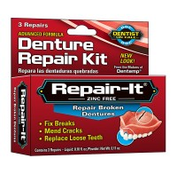 D.O.C. Emergency Denture Repair Kit 3 Each [010705400913]