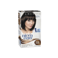 Nice 'n Easy Permanent Color, Natural Darkest Brown [121A] 1 ea [381519000386]
