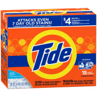 Tide Powder Laundry Detergent, Original 20 oz [037000277828]