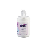 Sanitizing Skin Wipe Purell Canister Alcohol Unscented 175 Count [073852017472]