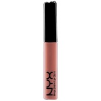 NYX Mega Shine Lip Gloss, Natural [122] 0.37 oz [800897051228]