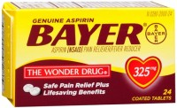 Bayer Aspirin Tablets 24 Tablets [312843101111]