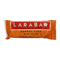 Larabar Original Fruit & Nut Bar, 1.6 oz each bar, Carrot Cake 16 ea [021908453361]
