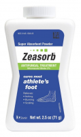 Zeasorb-AF Antifungal Powder 2.50 oz [073462150651]
