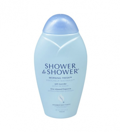SHOWER TO SHOWER Body Powder Morning Fresh 8 oz [381370007388]