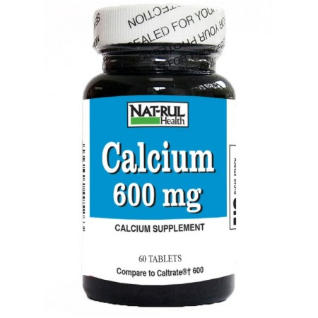 Nat-Rul Calcium 600 mg Tablets 60 ea [094604495263]