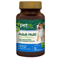 PetNC Natural Care Adult Multi Chewables for Dogs 75 ea [740985274811]