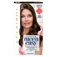 Clairol Nice 'n Easy Permanent Color,[4]  Dark Brown 1 ea [070018116734]
