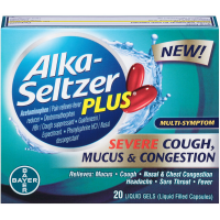 Alka-Seltzer Plus Severe Cough, Mucus & Congestion Liquid Gels 20 ea [016500559535]
