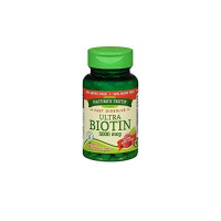 Nature's Truth Ultra Biotin 5,000 mcg Fast Dissolve Tabs Berry Flavor, 78 ea  [840093101181]