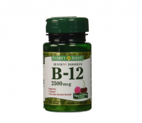 Nature's Bounty Vitamin B12 Sublingual 2500 mcg Tablets, Natural Cherry 75 ea [074312589119]