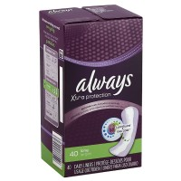 Always Xtra Protection Long Daily Liners 40 ea [037000455813]