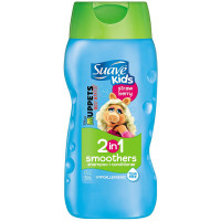 Suave Kids 2 in 1 Shampoo & Conditioner, Strawberry Smoothers 12 oz [079400921109]
