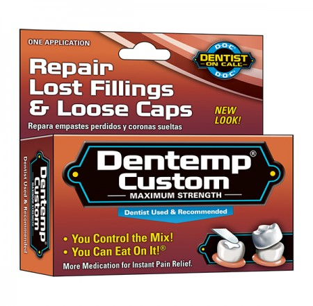 DENTEMP Custom Filling Mix 1 Each [010705400814]