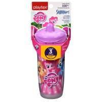 Playtex Sipsters My Little Pony Spout Sippy Cups 9 oz, Assorted 1 ea [078300006084]
