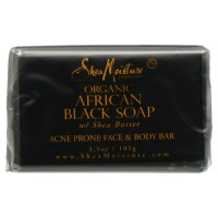 Shea Moisture African Black Soap Facial Bar Soap 3.5 oz [764302270003]