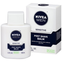 NIVEA FOR MEN Post Shave Balm, Sensitive 3.30 oz [072140813062]