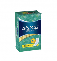 Always Ultra Thin Pads Regular 44 Each [037000314844]