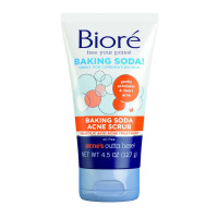 Biore Baking Soda Acne Scrub 4.5 oz [019100234567]