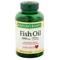 Nature's Bounty Fish Oil 1200 mg Softgels 120 ea [074312133299]