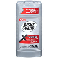 Right Guard Xtreme Odor Combat Invisible Solid Antiperspirant, Surge 2.60 oz [017000135199]