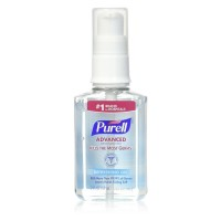 Purell Advanced Hand Sanitizer Refreshing Gel 2 oz [073852023886]
