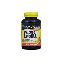 Mason Natural C 500 mg Pure Dietary Supplement, 250 ea [311845051721]
