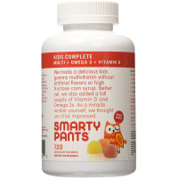SmartyPants Kids Complete Delicious Multivitamins Gummies 120 ea [851356004019]