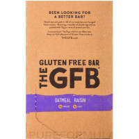 GFB Gluten-Free Oatmeal Raisin Bar, 2.05 oz Bars 12 ea [853056004016]